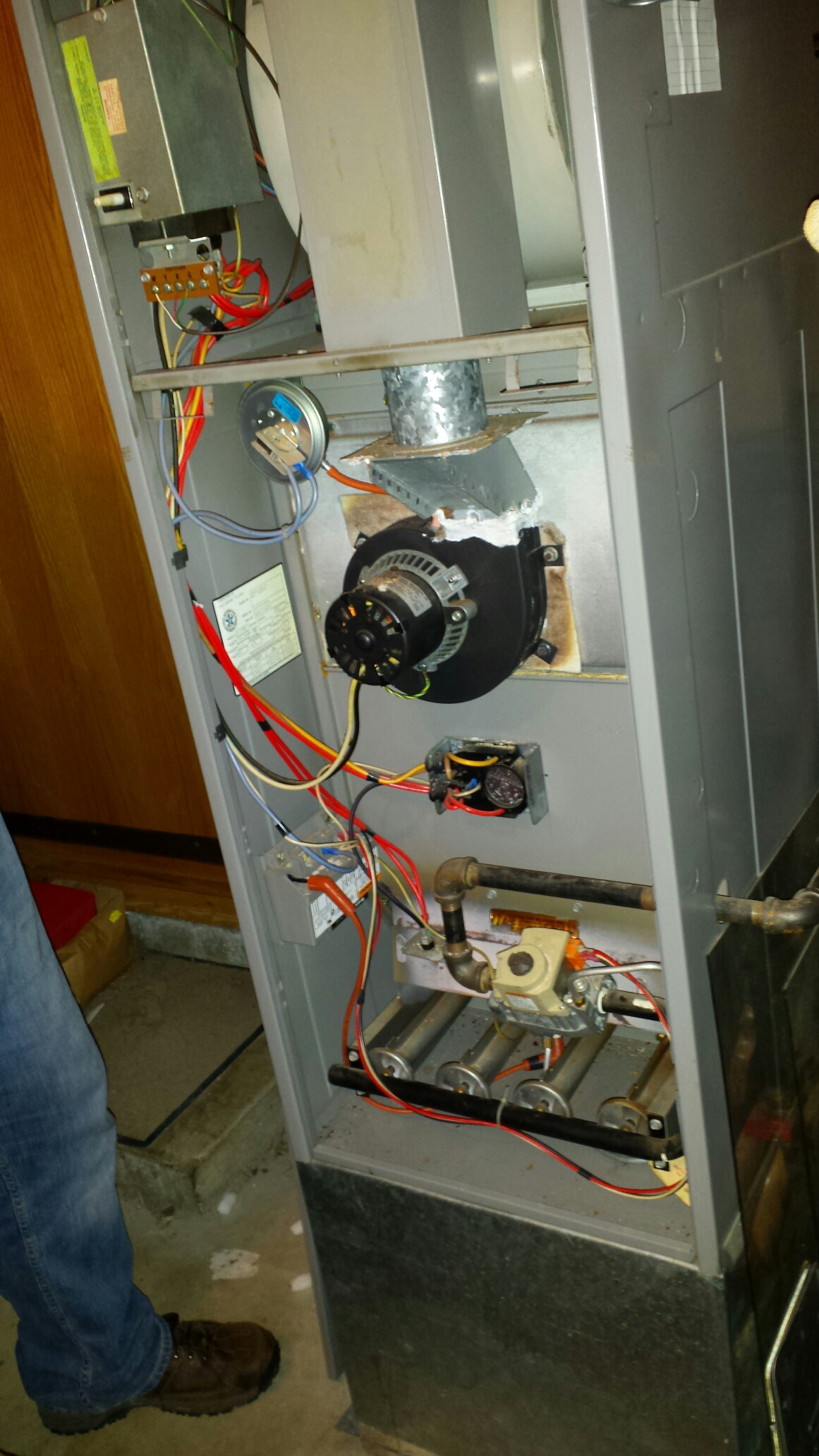 Marysville, WA - Furnace replacement in Marysville Washington