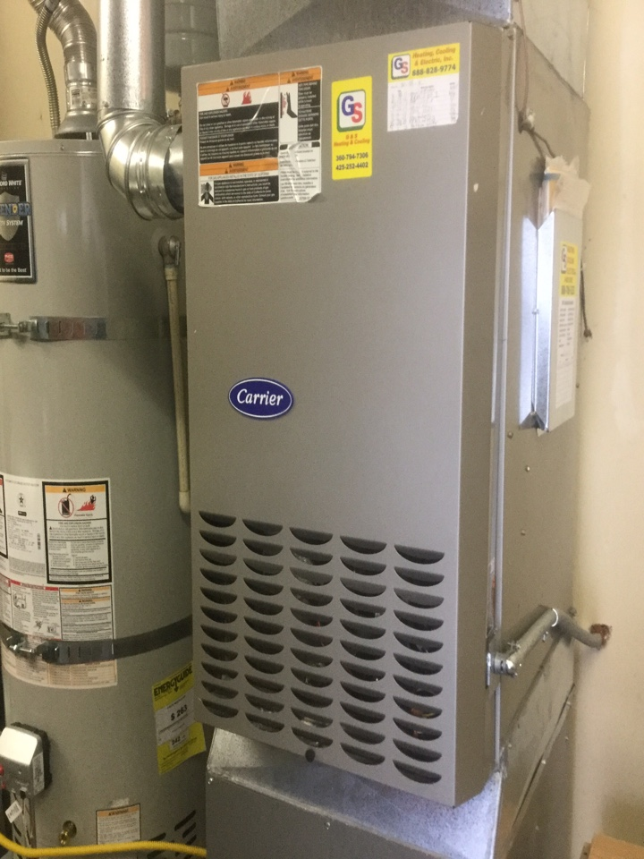 Snohomish, WA - Gas furnace tune up  snohomish.