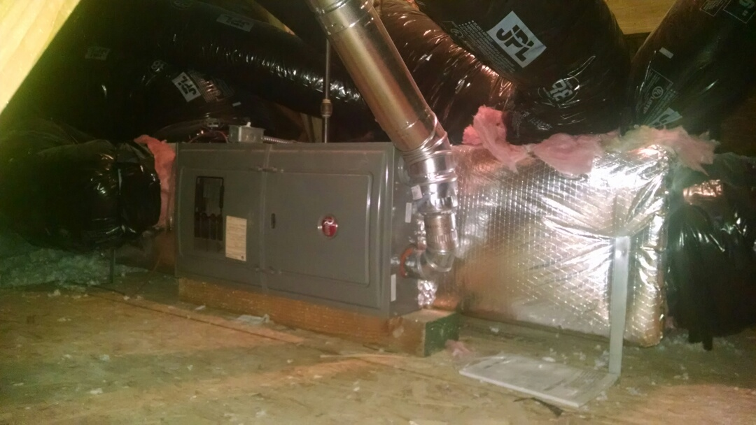 Snohomish, WA - Installation of Lennox Air Conditioning in Bothell