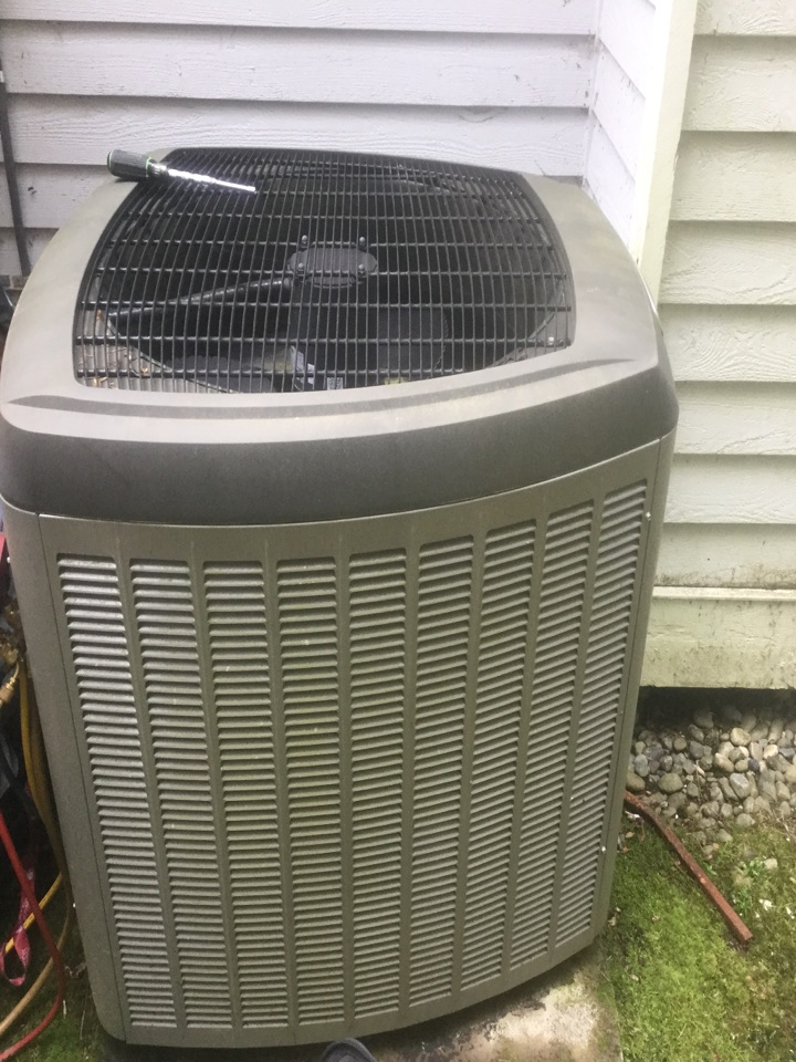 Snohomish, WA - Lennox heat pump service snohomish