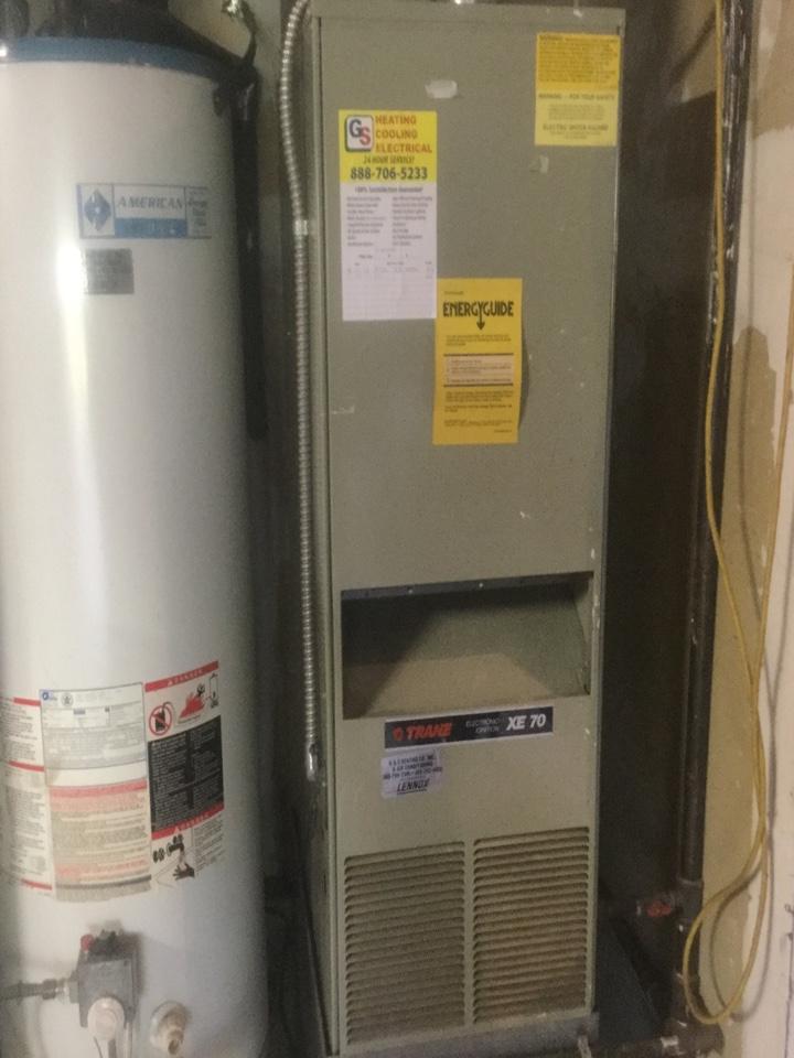 Snohomish, WA - Trane gas furnace repair  snohomish