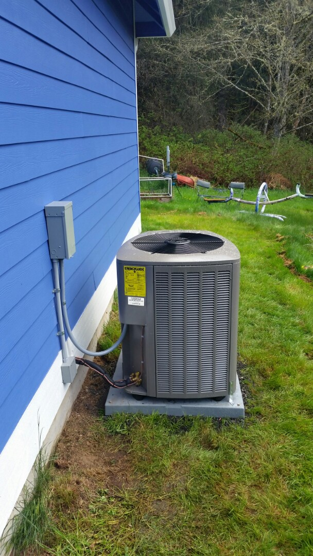 Snohomish, WA - Added ac and new return duct to existing propane  furnace