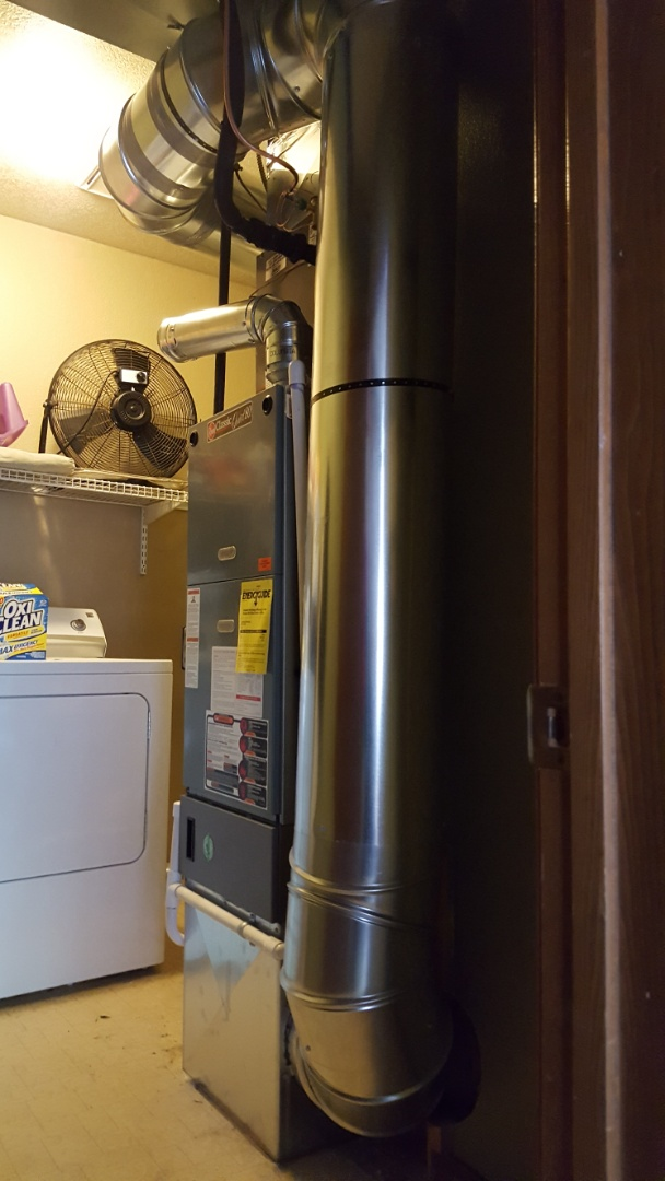 Lake Stevens, WA - Just finished adding AC to customers home in Lynnwood today also added return air upstairs  for lowering static pressure. Customers happy to have AC for this summer just in time for 80 degree day Tuesday