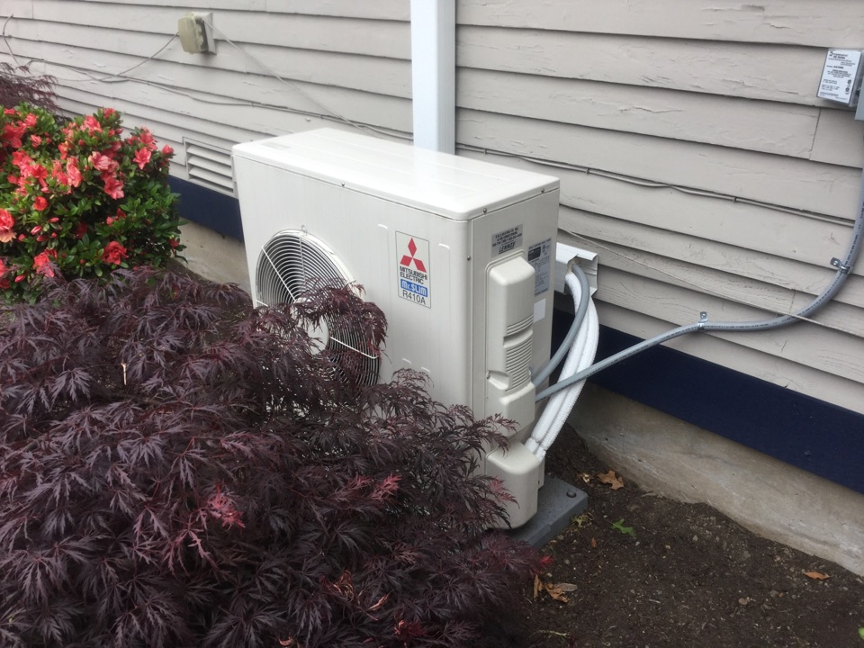 Snohomish, WA - Maintenance on ductless air conditioner