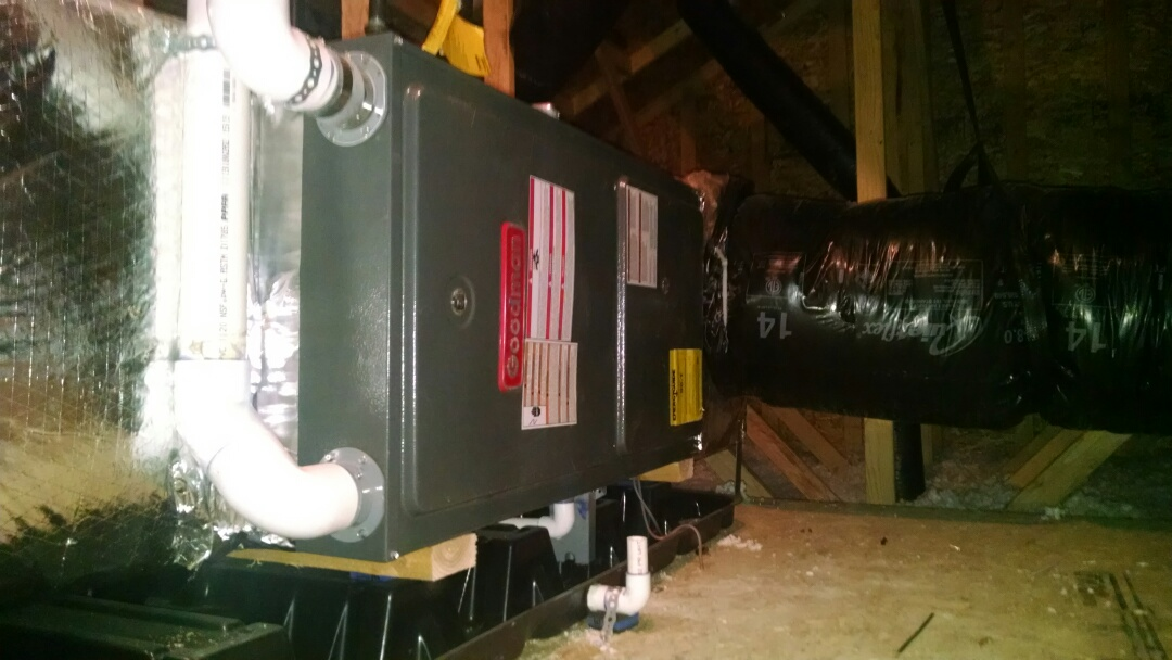 Lake Stevens, WA - Installation of Lennox Air conditioning in Lake Stevens