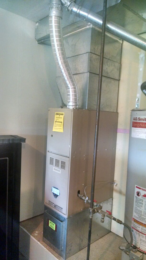Marysville, WA - Installation of Lennox Air conditioning in Marysville