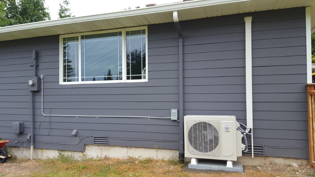 Lake Stevens, WA - Just finished installing a multi-head Lennox mini split heat pump system for customers in Brier today happy to have more efficient Heating and Cooling installed in their home