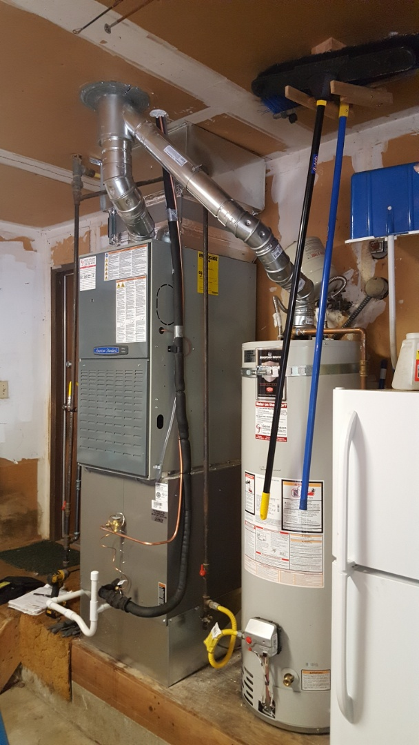 Everett, WA - Finished today job today installing heat pump to customers existing heating system in Bothell customer is happy to have more efficient heating and cooling system installed