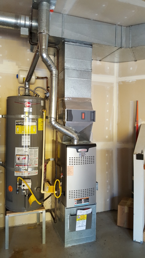 Mukilteo, WA - Finished installing new 80% dual stage furnace for a customer in Mukilteo today happy to have more efficient heating system