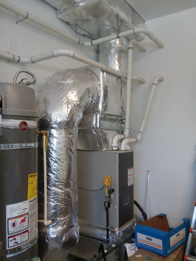 Seattle, WA - Installation of Lennox Air conditioning in Seattle