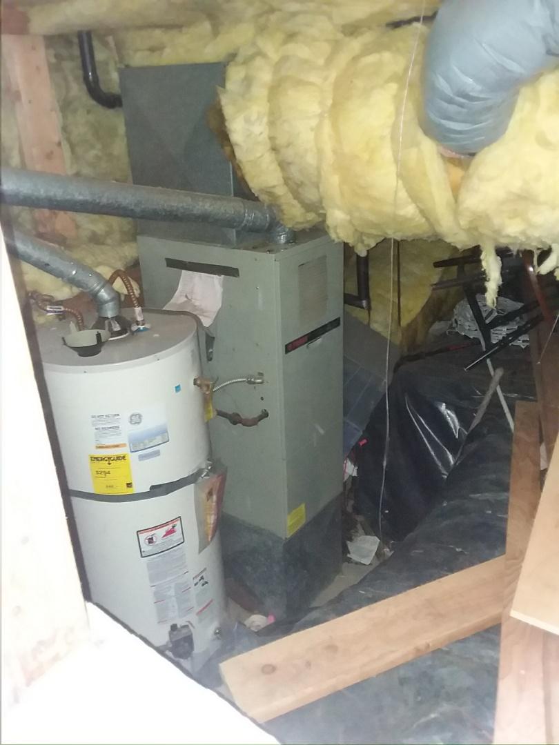 Edmonds, WA - Repairing Trane furnace in Edmonds.