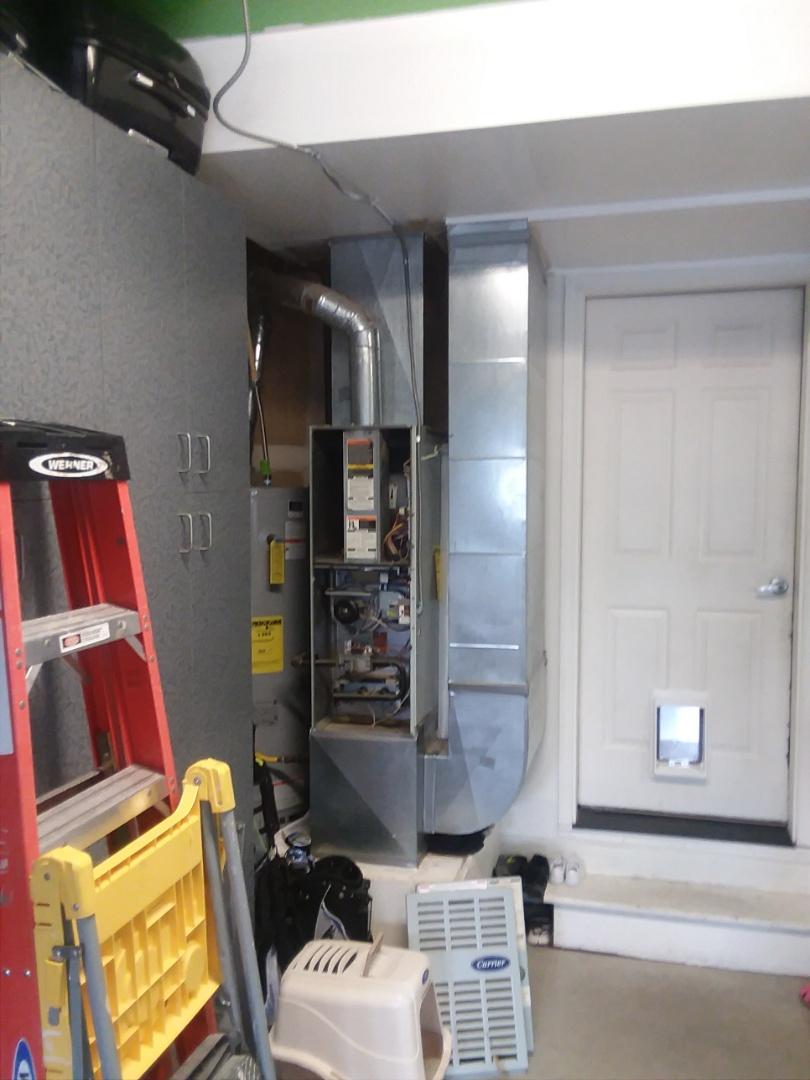 Everett, WA - Installation of Lennox Air conditioning in Everett