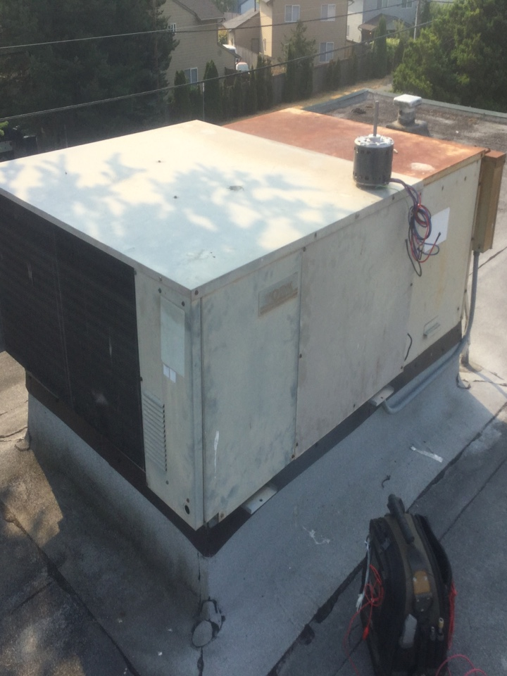 Lynnwood, WA - York package unit repair Lynnwood