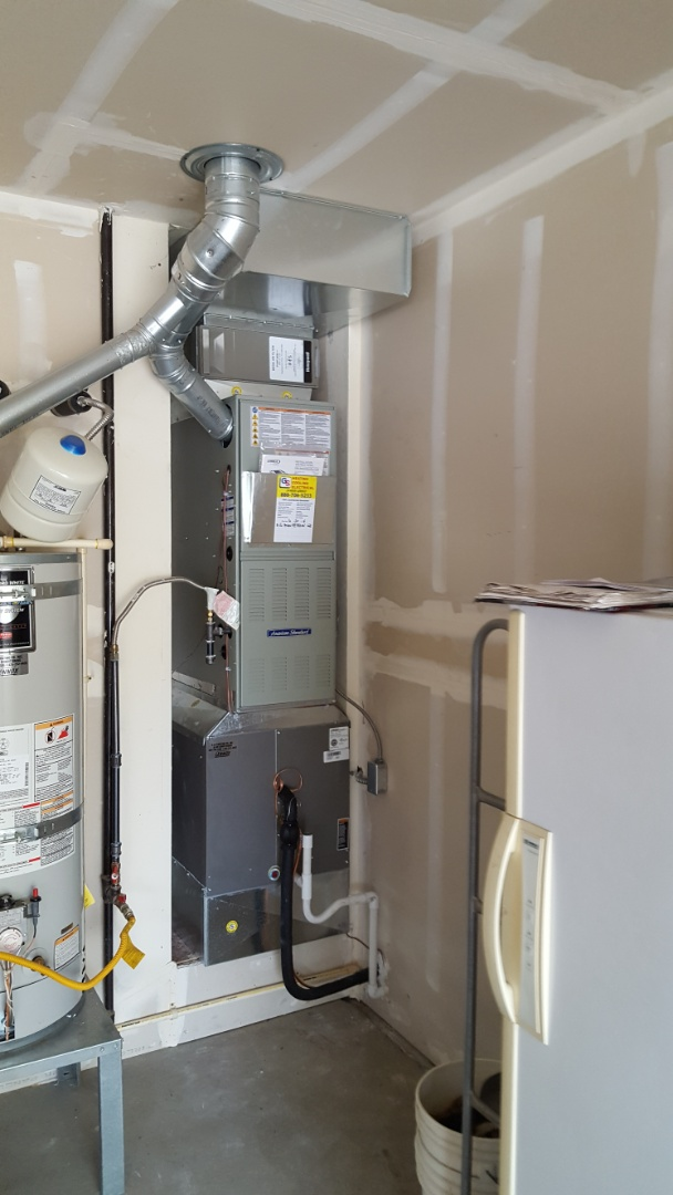 Everett, WA - Add air conditioning to a customer's home in Arlington today customers are happy to have efficient air conditioning added to the existing heating system