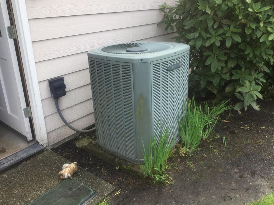 Carrier heat pump service Snohomish