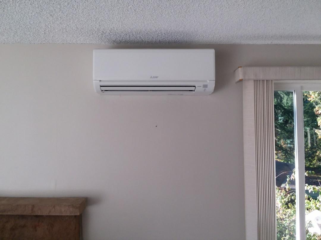 Shoreline, WA - Ductless heat pump