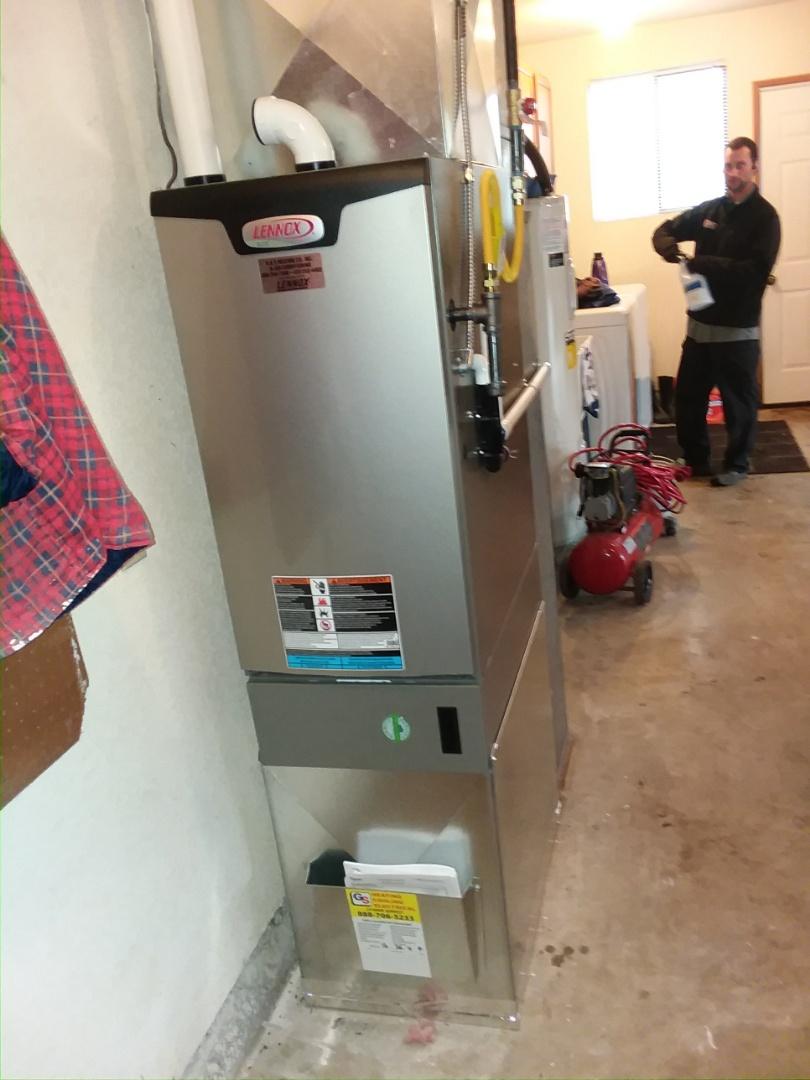 Edmonds, WA - New gas furnace install