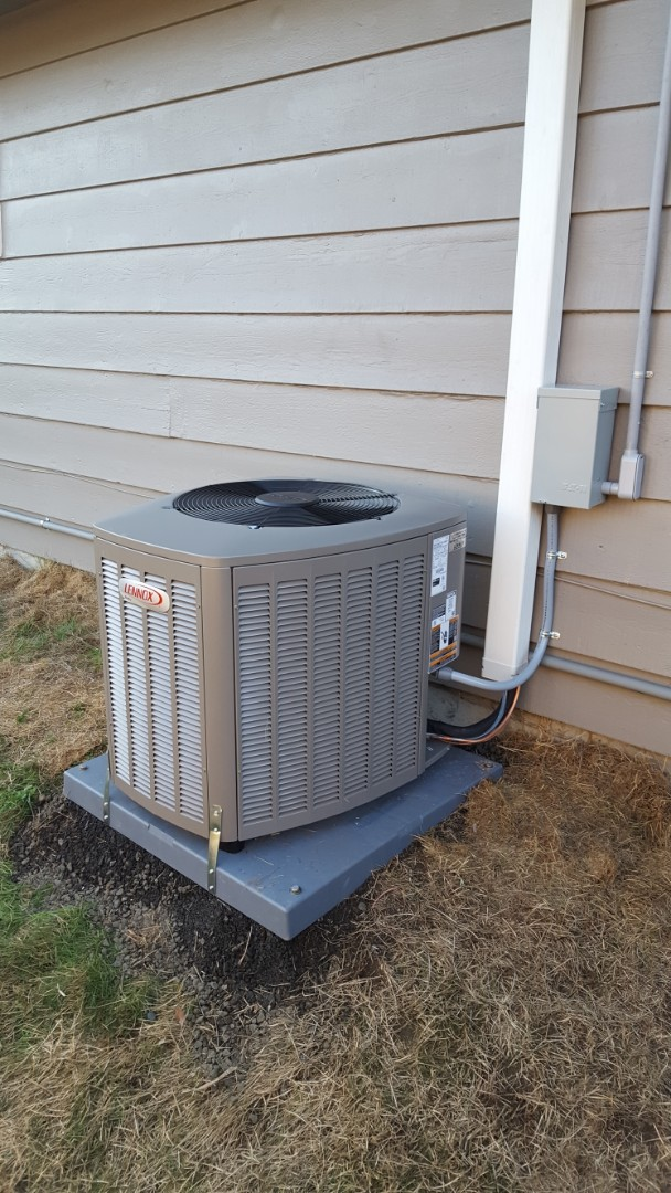 Shoreline, WA - Just finished Lennox 80% dual stage furnace AC install with tankless water heater for customers in Shoreline today happy to have more efficient Heating and Cooling and hot water supply