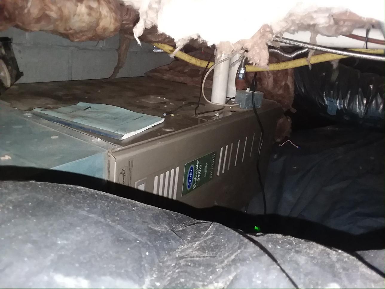 Everett, WA - Installation of a 95% gas furnace.