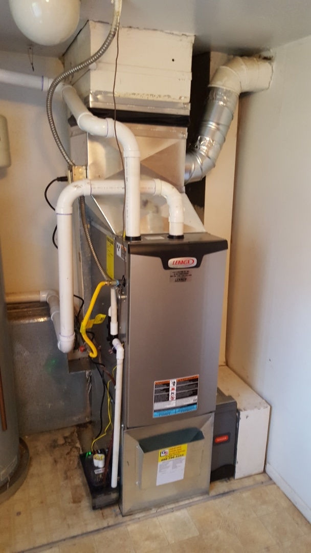 Marysville, WA - Just finished installing a Lennox el296 furnace for customer in Marysville today happy to have more efficient heating installed in home