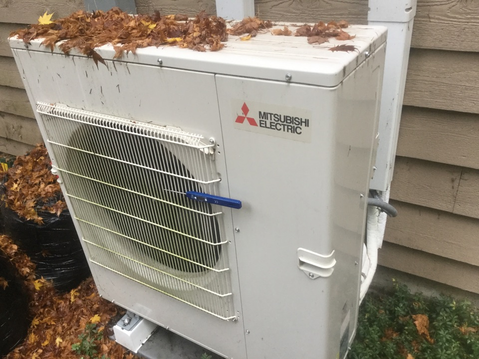 Monroe, WA - Performing a precision tune up on a ductless heat pump in Monroe, WA