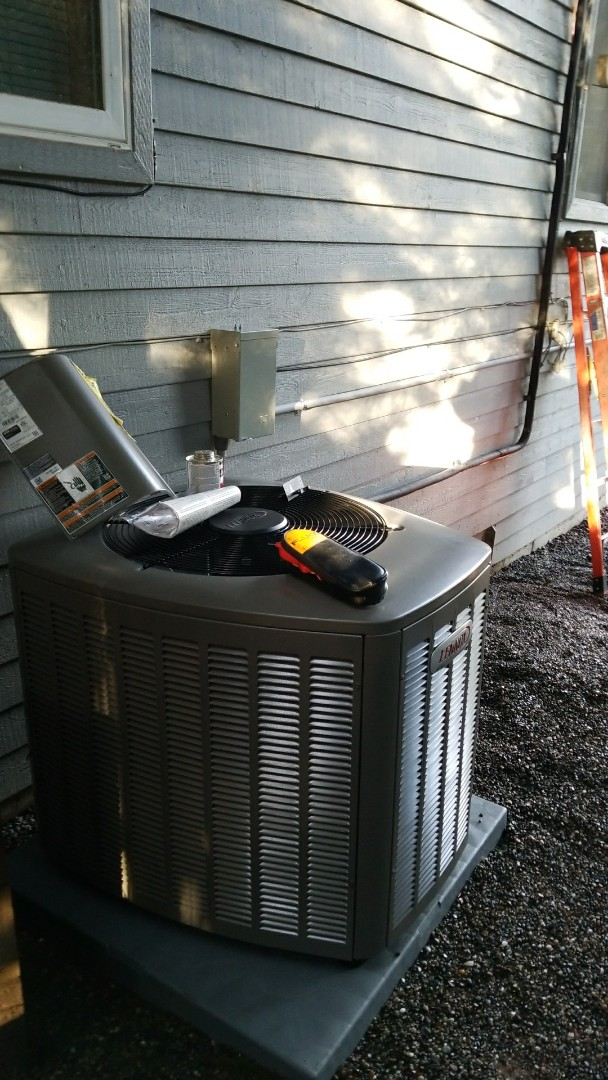 Mukilteo, WA - Electrical install of new furnace and heat pump ac