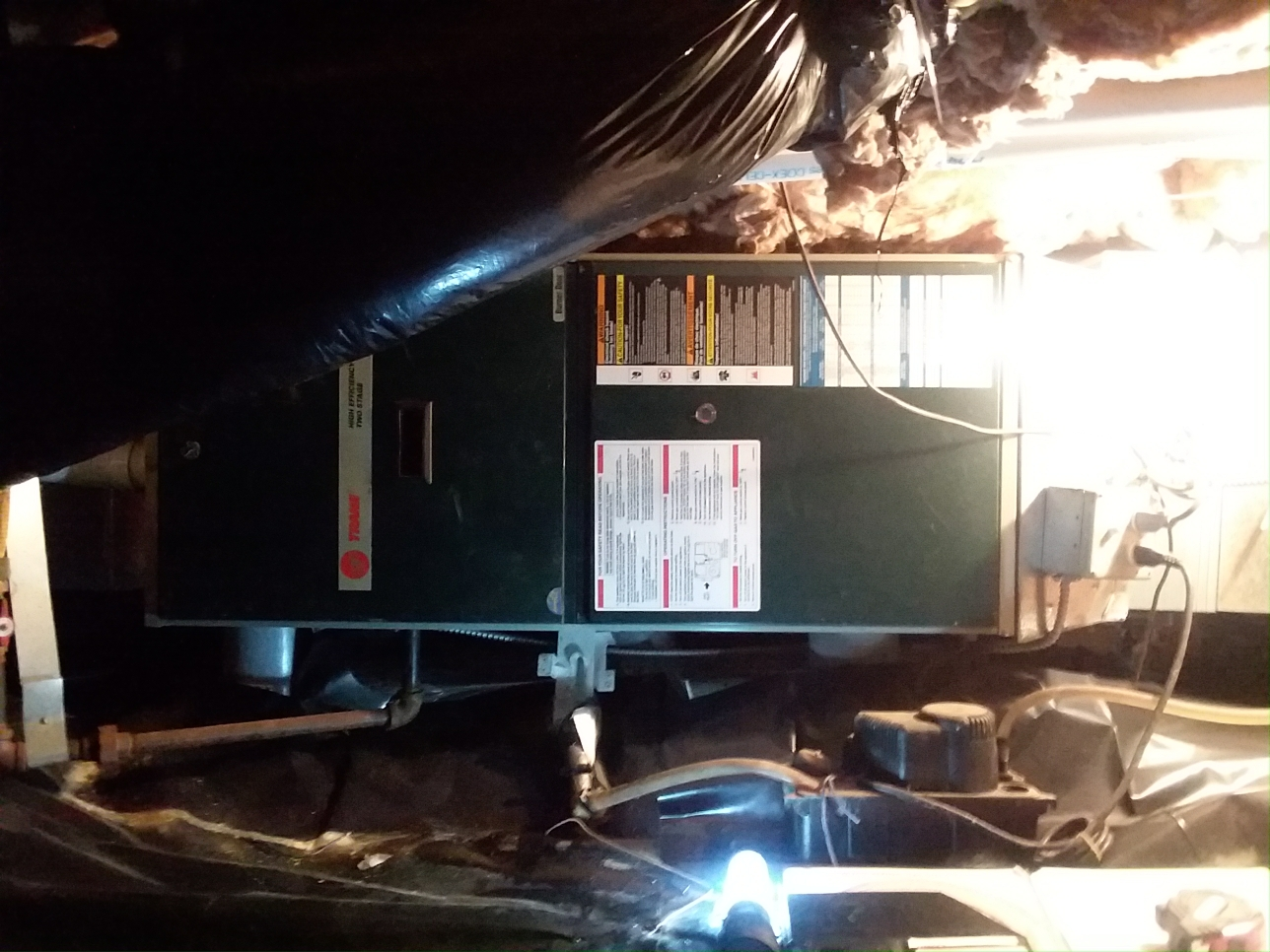 Shoreline, WA - Estimate on a new 96% gas furnace in the crawl space