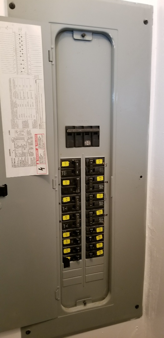 Shoreline, WA - Electrical service call check wall heater resetbutton
