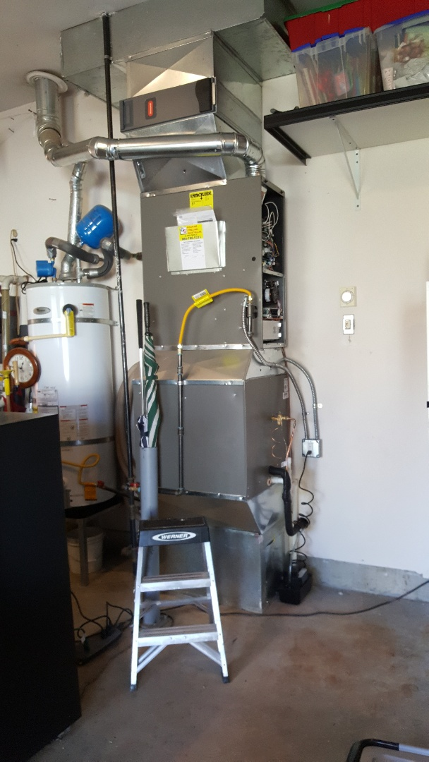 Lynnwood, WA - Lennox xp20 with sl280 gas furnace