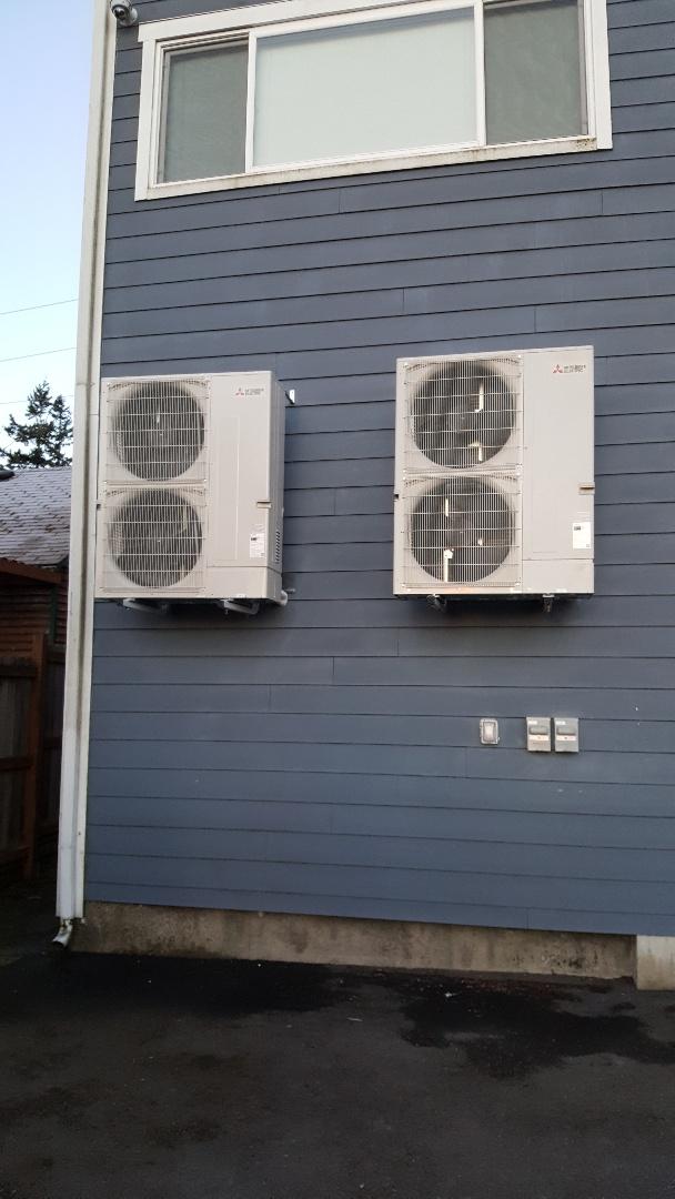 Everett, WA - Mitsubishi branch system