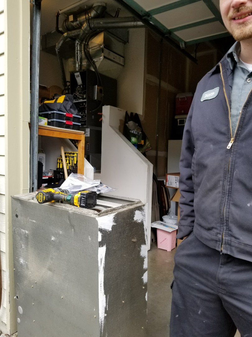 Lynnwood, WA - Electrical install of new furnace and AC