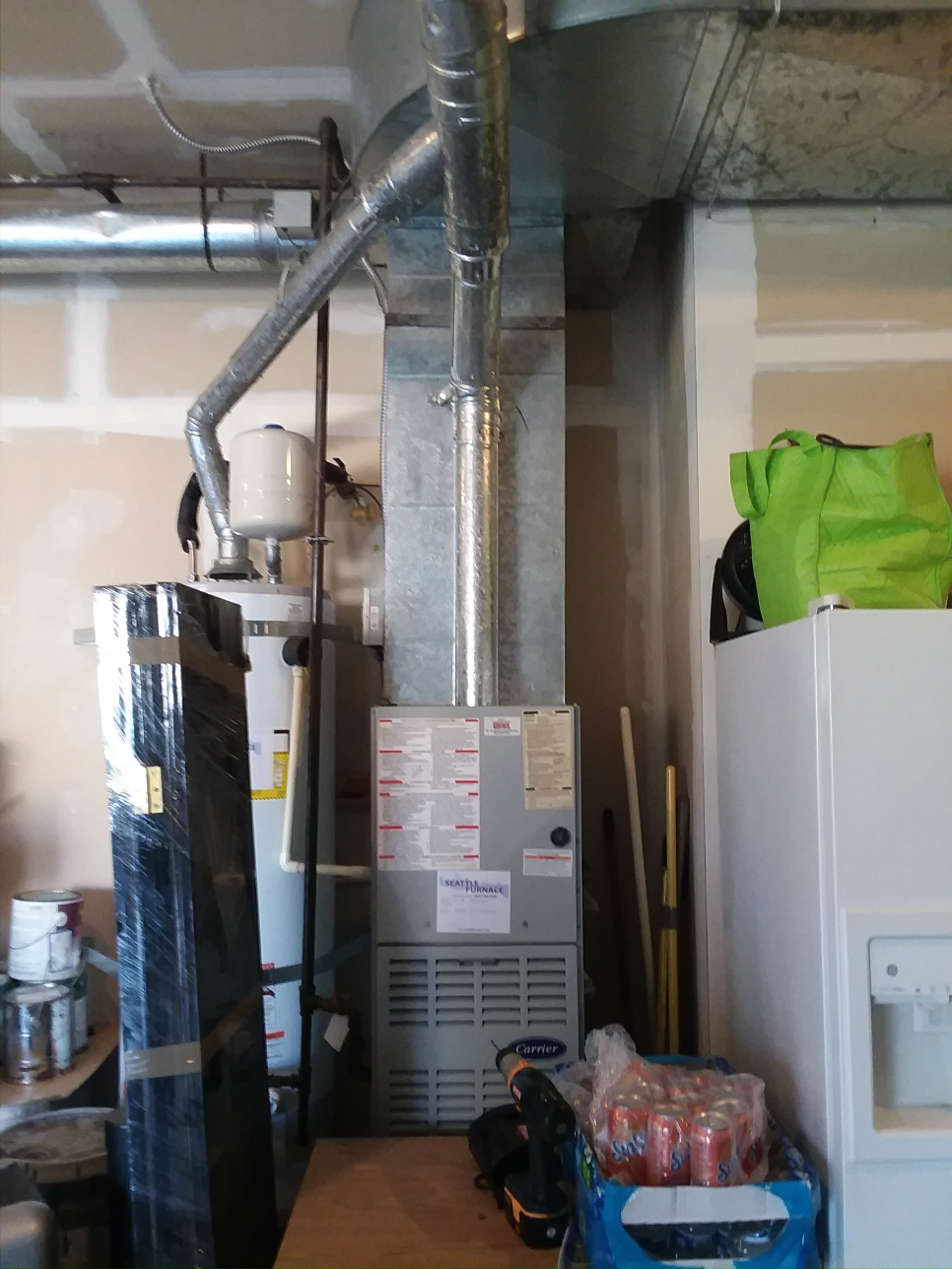Mukilteo, WA - On a air conditioner and new furnace
