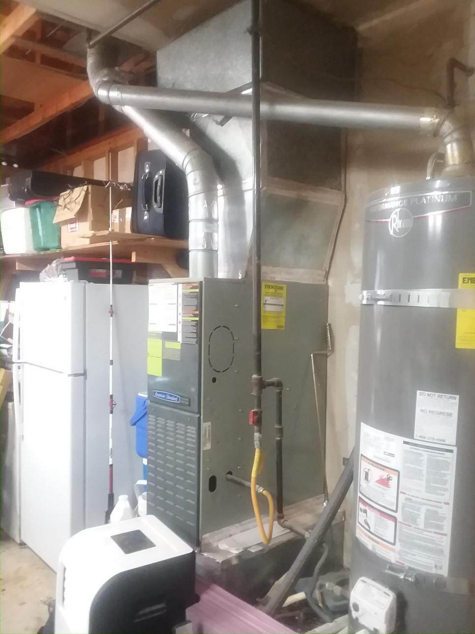 Mukilteo, WA - Estimate on a new air conditioner and furnace