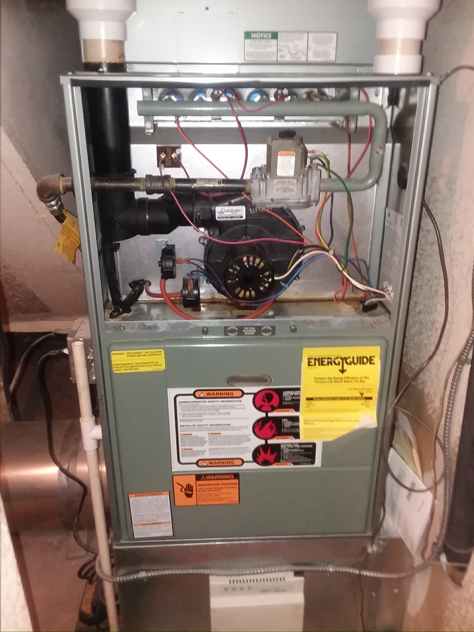 Bothell, WA - Estimate for New Lennox furnace system in Bothell Washington