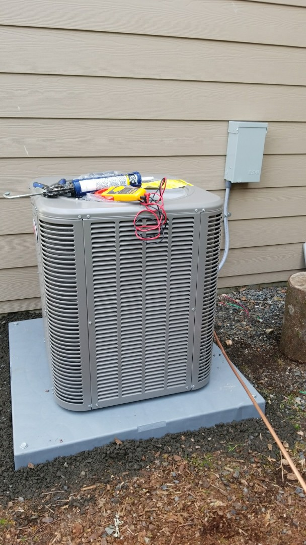 Lake Stevens, WA - Electrical install of new furnace and AC