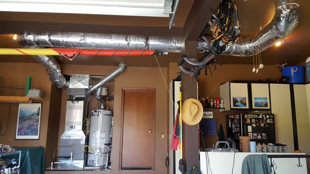 Mukilteo, WA - Just finished installing startup on 80% furnace with hybrid heat pump free customer in Mukilteo today happy to have more efficient Heating and Cooling