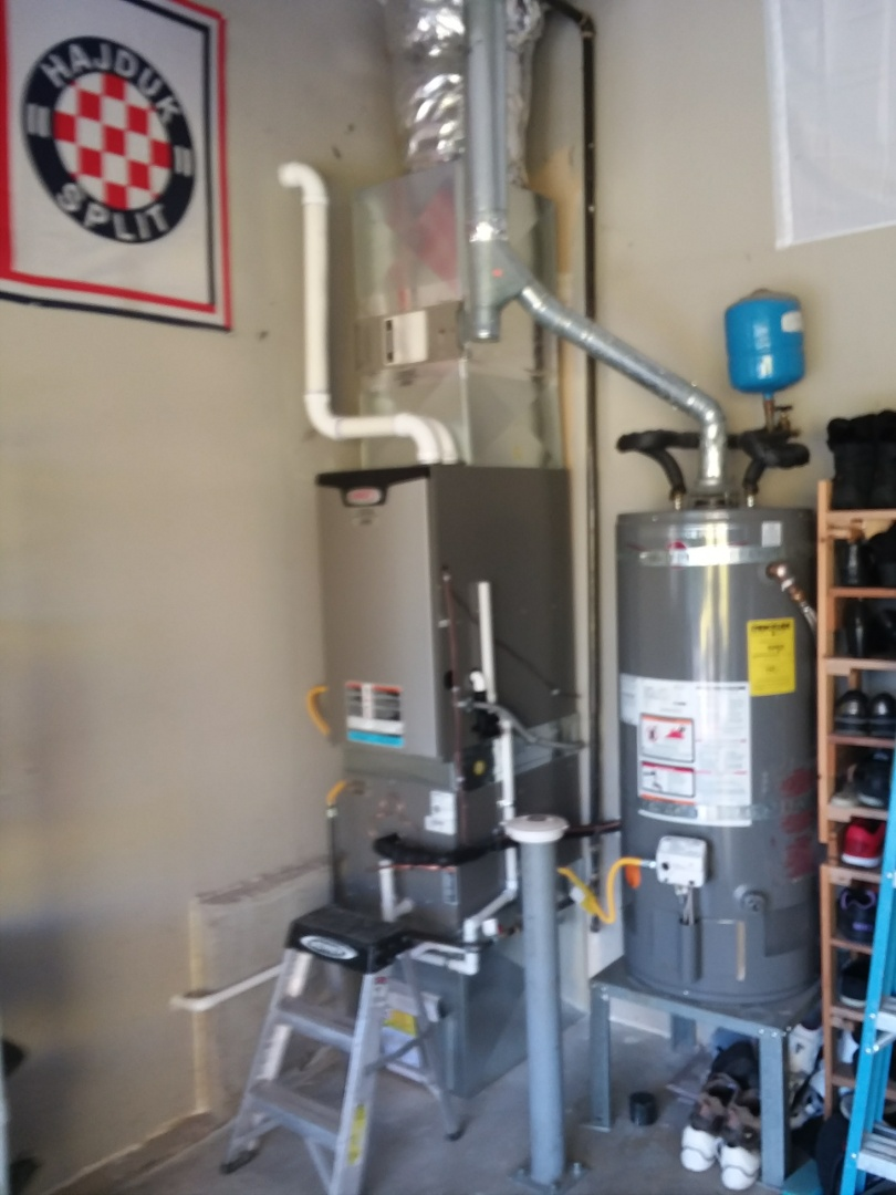 Bothell, WA - Lennox gas furnace and ac install