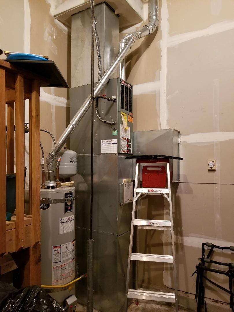 Lake Stevens, WA - Providing an estimate to install a Lennox EL16 Elite Series air conditioner in Lake Stevens.
