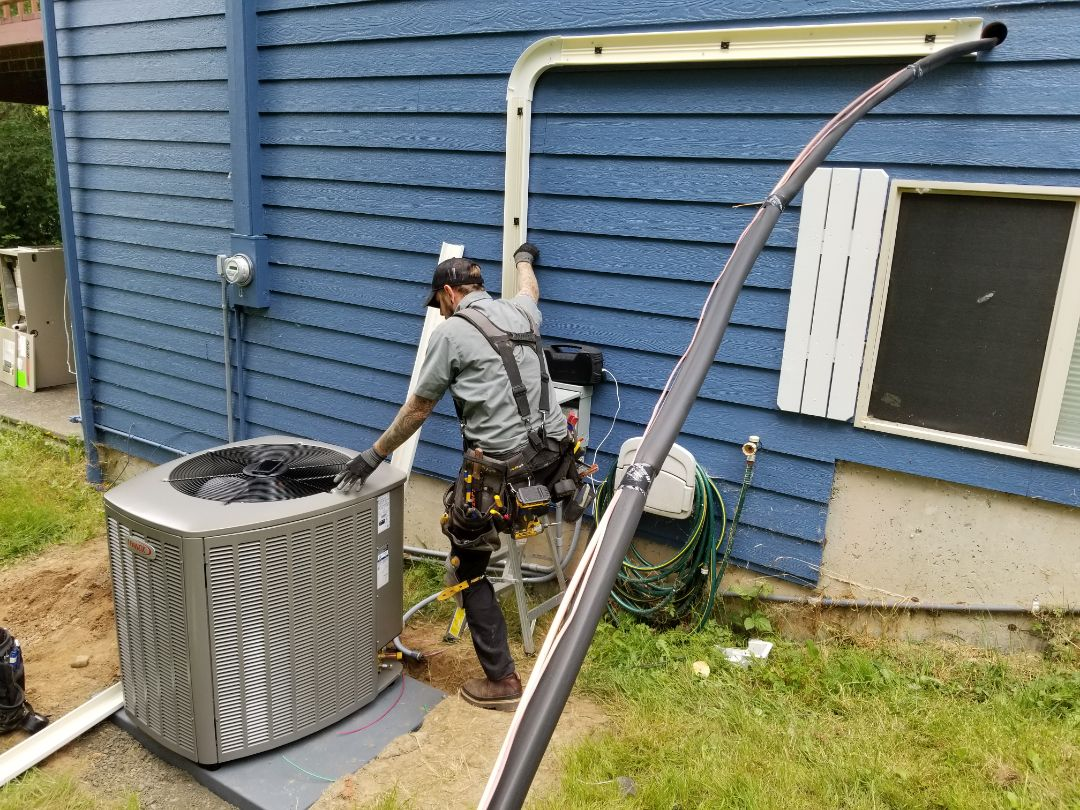 Monroe, WA - Electrical install new AC system