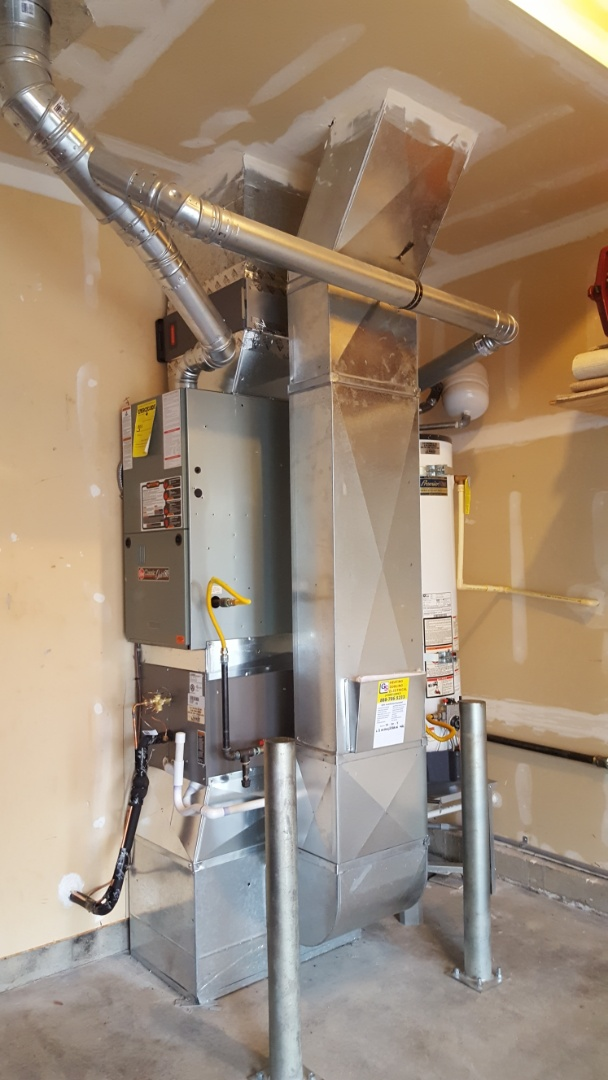 Lynnwood, WA - Just finished an AC add-on for customers in Lynnwood today using Lennox products