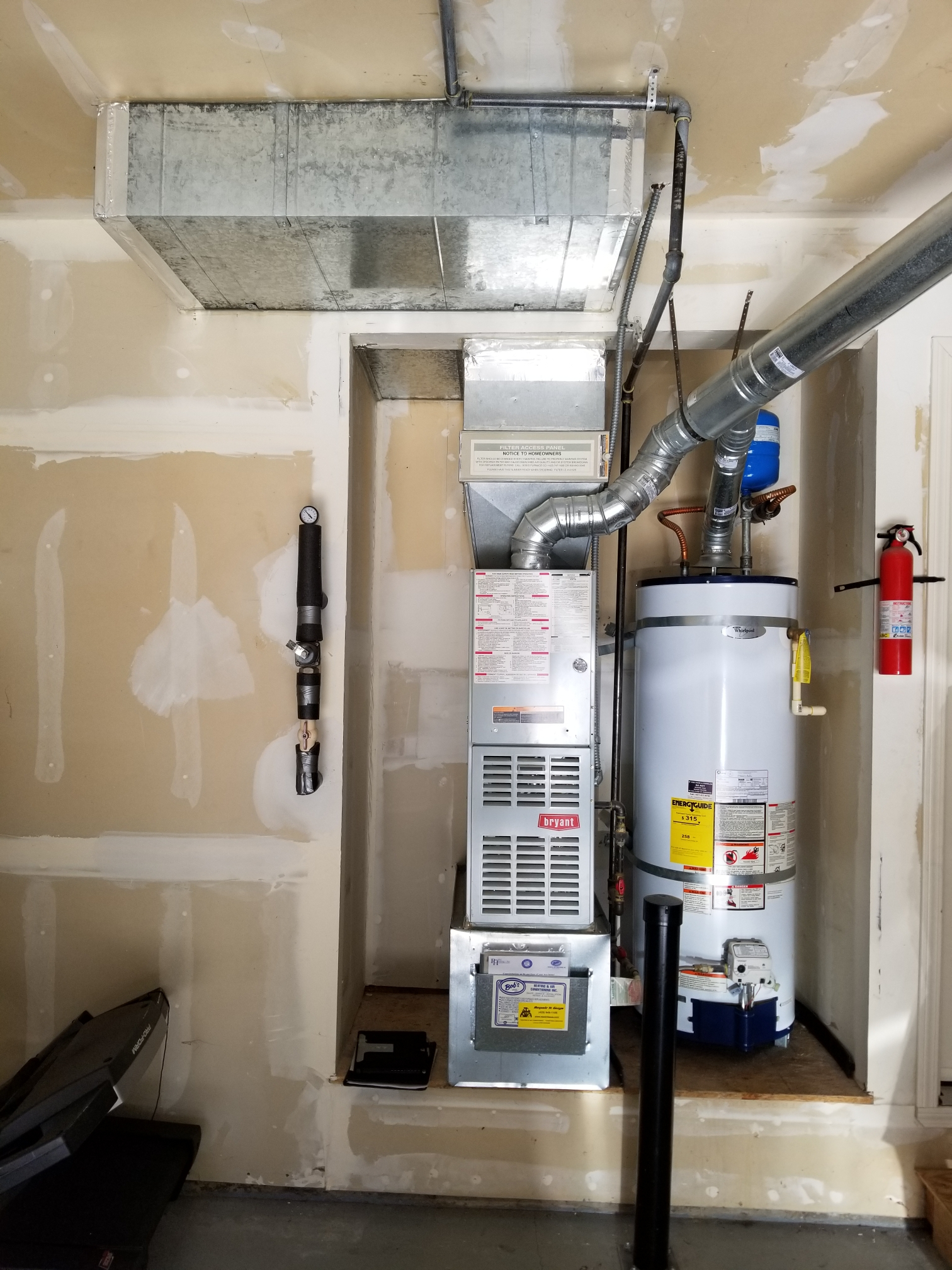Edmonds, WA - Bid on a gas furnace with an air conditioning add on