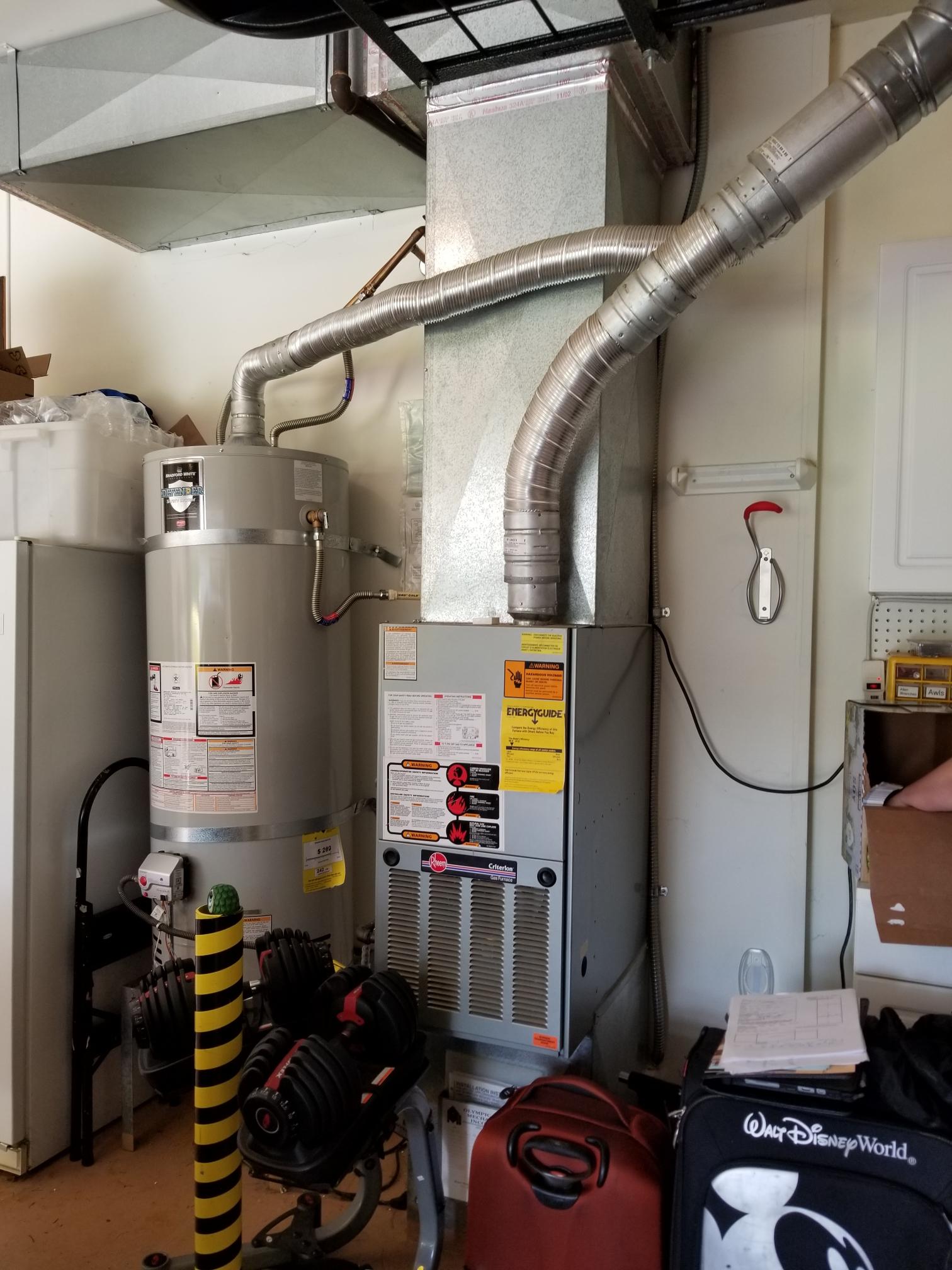 Lynnwood, WA - Estimate on a heat pump gas furnace combo