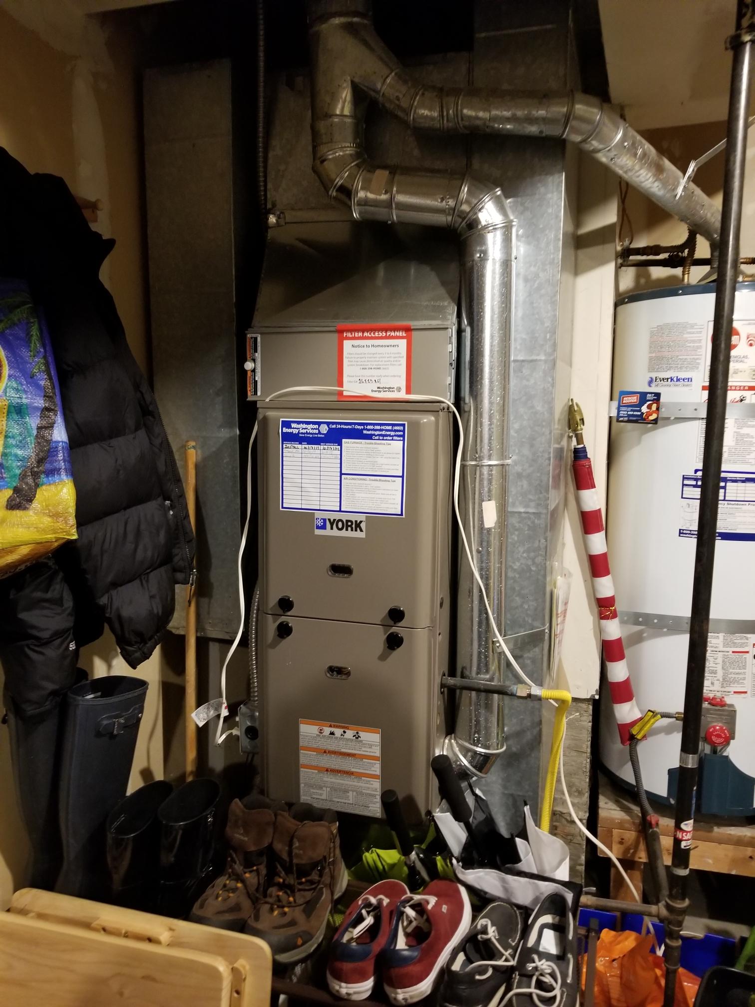 Lynnwood, WA - Estimate on adding ac to a furnace in the garage