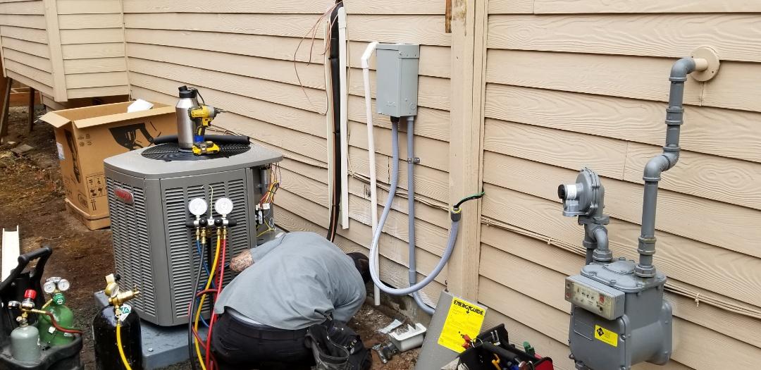 Mukilteo, WA - Electrical install new heat pump system