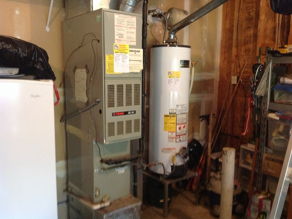 Monroe, WA - Trane heatpump maintenance