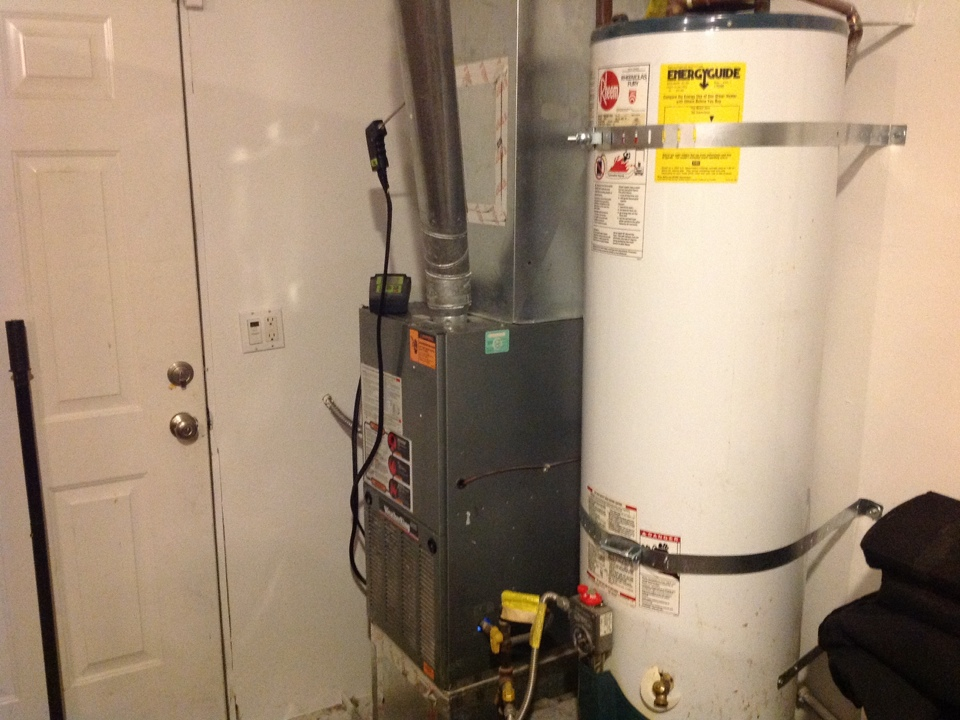 Monroe, WA - Rheem gas tune up and duct cleaning