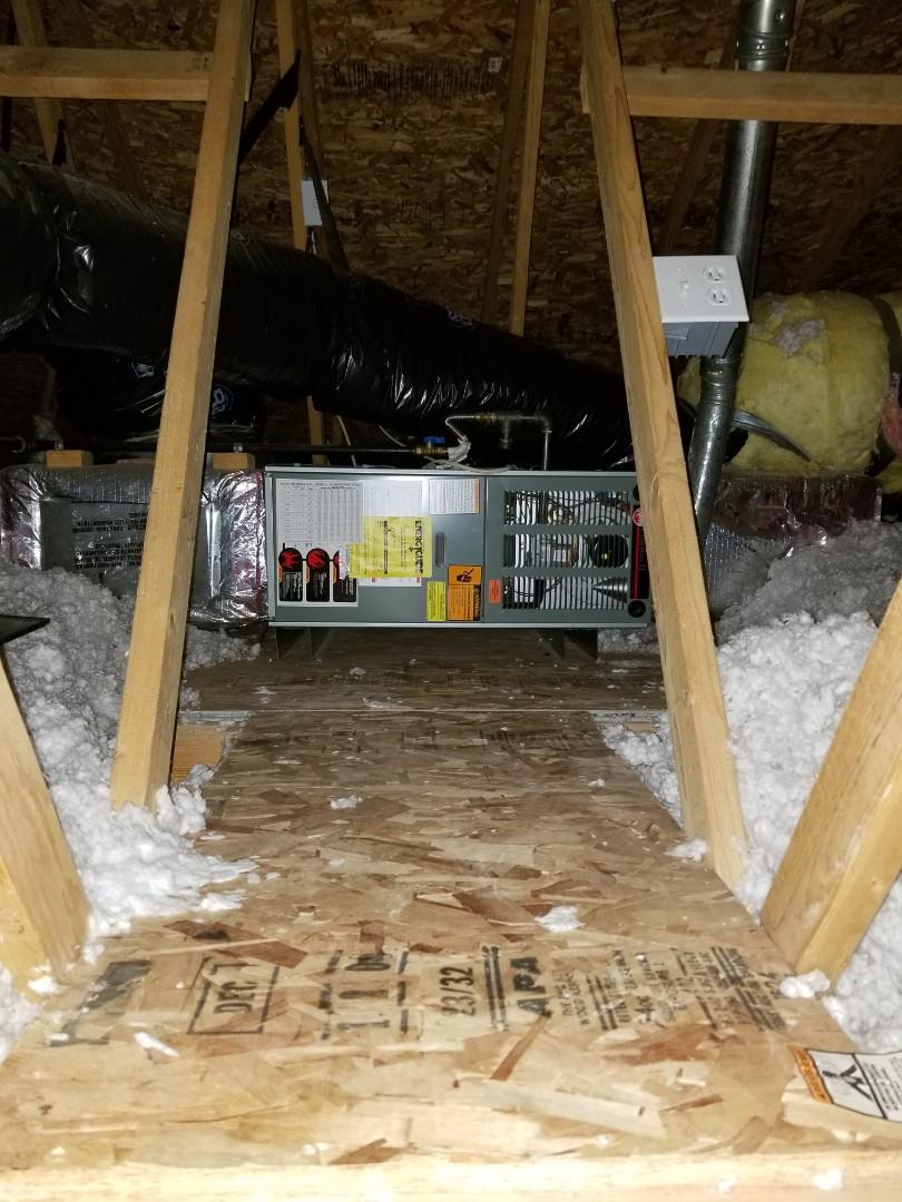Lake Stevens, WA - Providing an estimate to install a Lennox Elite Series EL16 air conditioner in Lake Stevens.