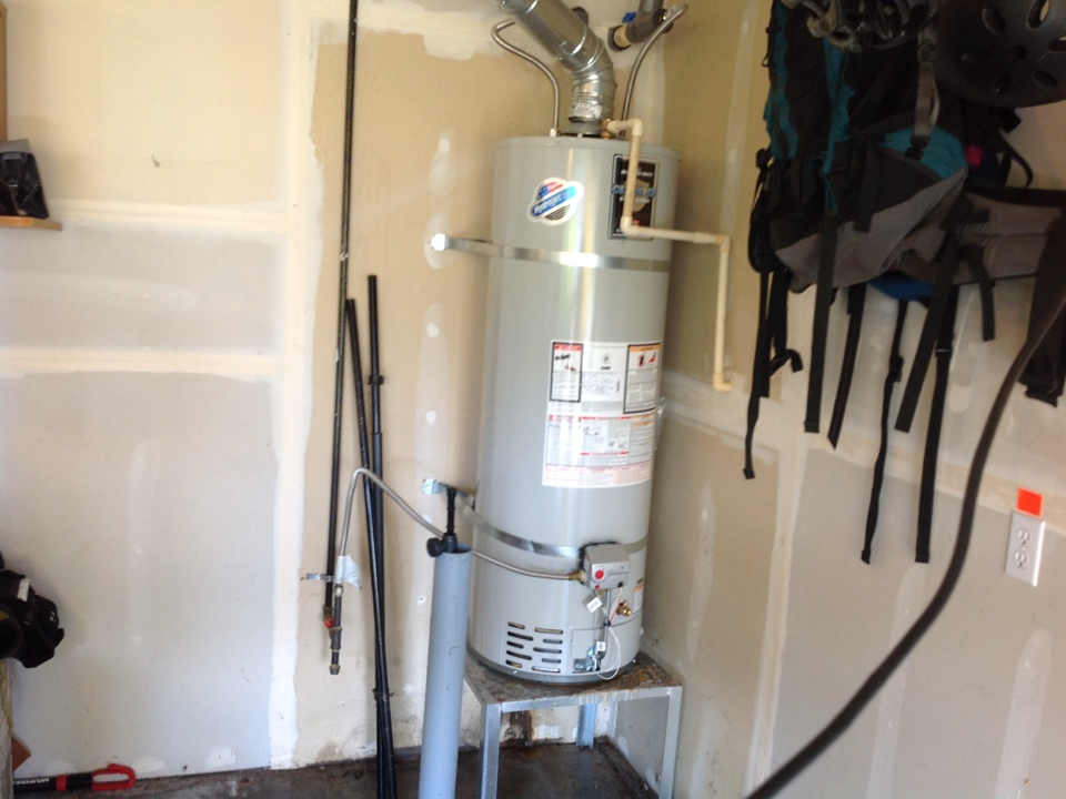 Monroe, WA - Replace water heater Bradford white