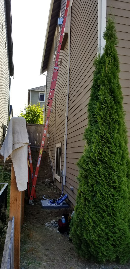 Lynnwood, WA - Electrical install new AC
