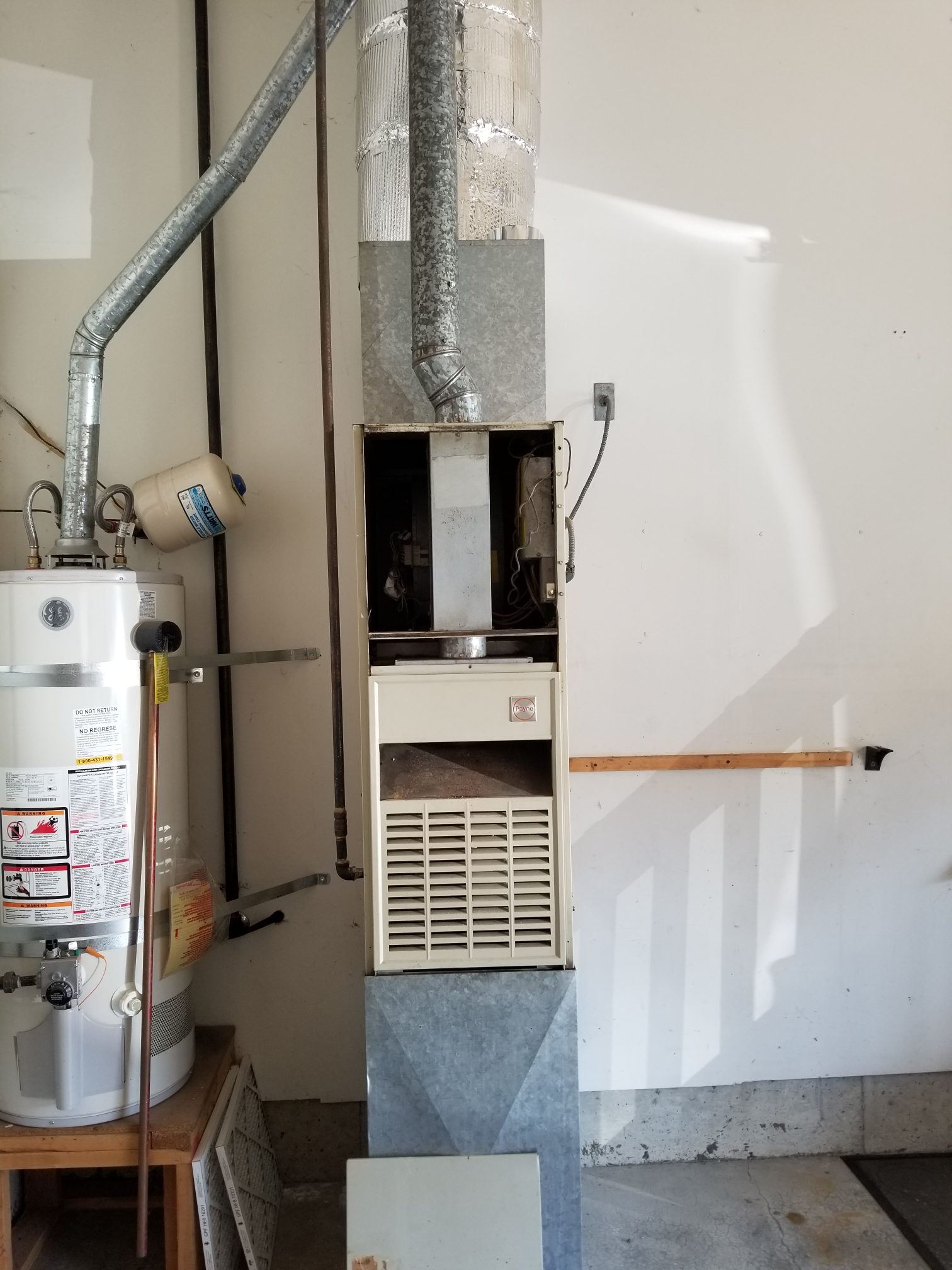 Mukilteo, WA - Estimate on a new gas furnace and air conditioner